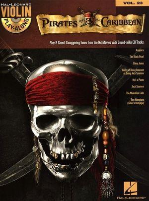 Violin Play-Along vol.23: Pirates Of The Caribbean + CD