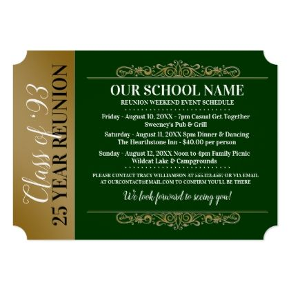 The 25+ best Class reunion invitations ideas on Pinterest Class - class reunion invitations templates