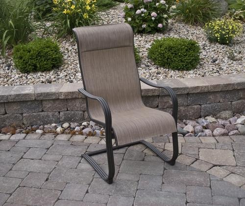 Manchester Spring Action Dining Chair at Menards - 15 Best Images About Outdoor Furniture On Pinterest Cushions