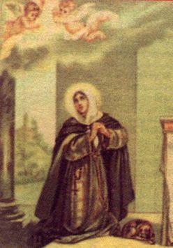 Santa franciscana del mes: santa Margarita de Cortona.