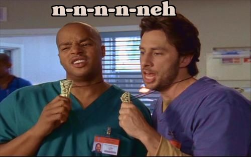 scrubs jd and turk meet
