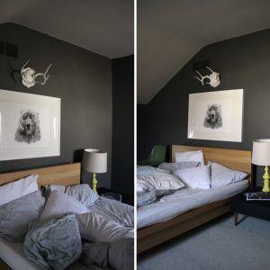 Dark Gray Bedroom Ideas
