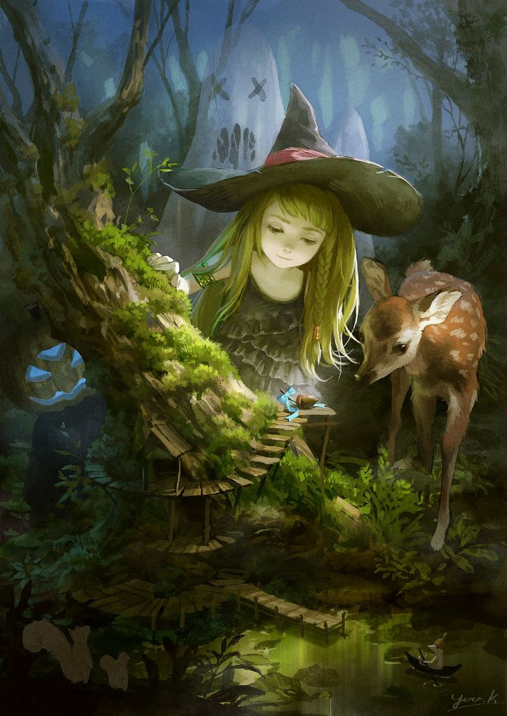 Magick Wicca Witch Witchcraft:  Little #Witchling.
