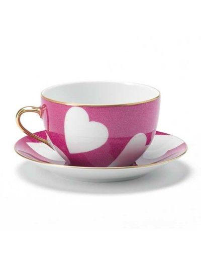 cutest cup + saucer // Nina Campbell china
