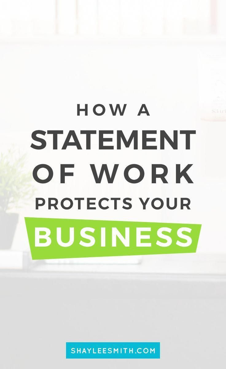 You May Not Know What A Statement Of Work Does For Your Freelance Business But It Can Help And Pro Statement Of Work Online Writing Jobs Freelance Writing Jobs