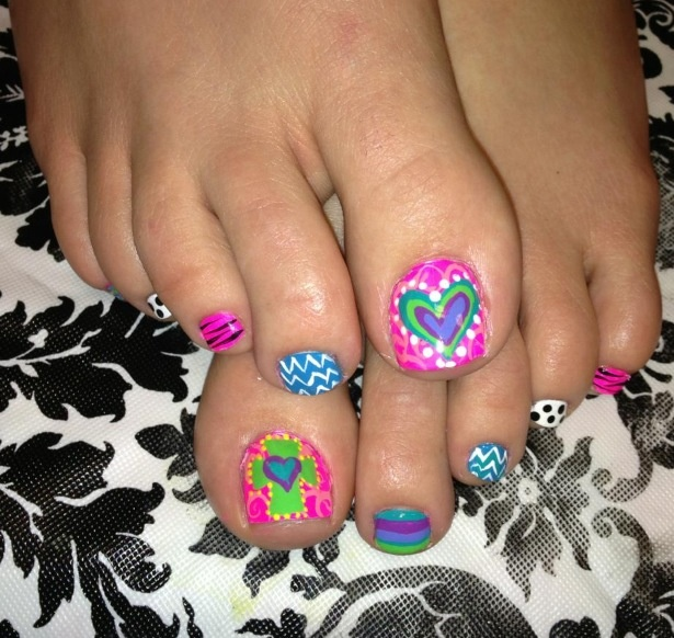 1000 Ideas About Painted Toe Nails On Pinterest Painted Toes Manicure At Home And Stylish Nails