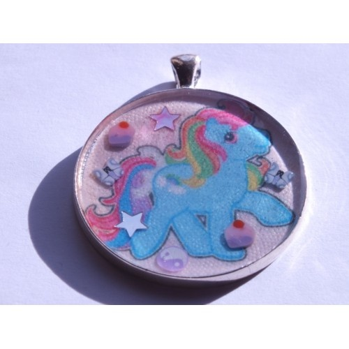 £10. My little pony necklace. www.cherry-baby.co.uk