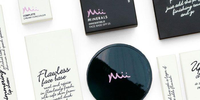 Mii by Gerrard International #packaging #health #beauty