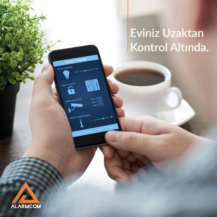 Alarmcom Akıllı Güvenlik Sistemleri ile eviniz uzaktan da korumanız altındadır.