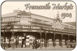 Fremantle Markets in 1904