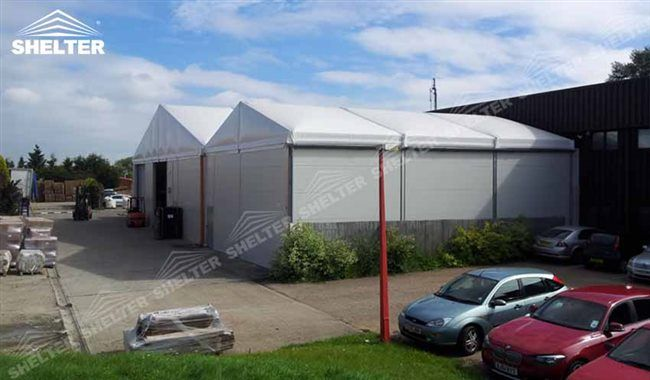 Temporary Warehouse Structures for lunch hall, distribute center, municiple construction canopy, and also equipment storage, Widely sell in Pakistan and etc