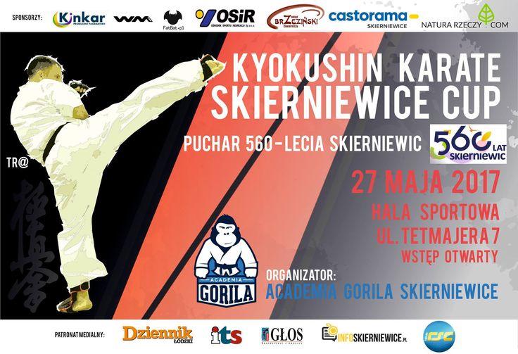 Zapraszamy na puchar Karate Kyokushin do Skierniewic