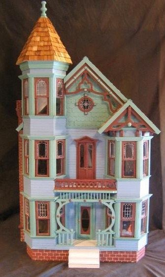 victorian dollhouses   painted lady victorian   Dollhouses