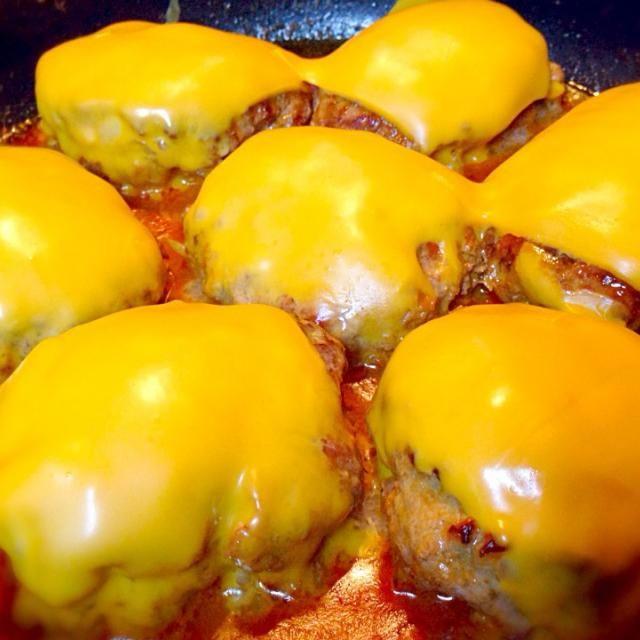レシピとお料理がひらめくSnapDish - 68件のもぐもぐ - チーズハンバーグ by Kaori Kaneko