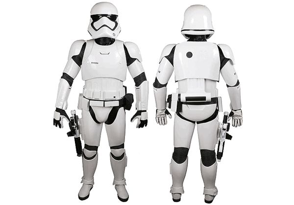 Star Wars: The Force Awakens - Stormtrooper Armor for Cosplay Free Papercraft Download