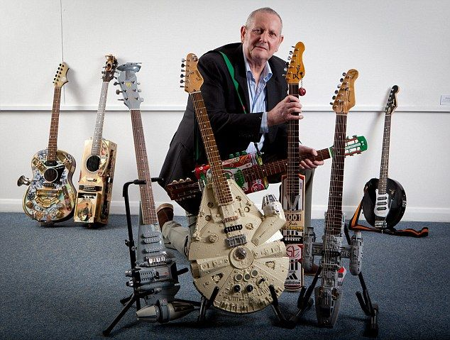 Tom Bingham built star wars electric guitars: Toms, Star Wars Guitars 5 Jpg Check, Starwars Guitars, Star Wars Custom Guitars, Tom Bingham, Custom Starwars, Stars, Electric Guitars