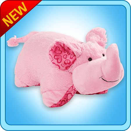 Join us in #pillowpetsworld and you can win REAL #pillowpets prizes like XOXO Elephant pillow pet! @OfficialPillowPets