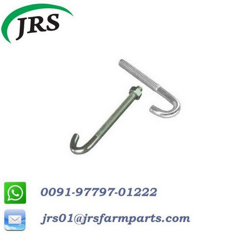 J-Bolt/ foundation bolt for export | Threaded Bolts