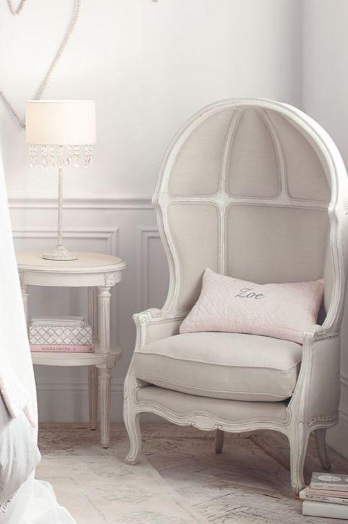 inspired by classic 18th-century Louis XV chairs. #rhbabyandchild #fallinlove