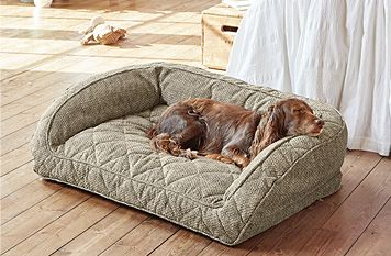 Orvis ComfortFill Bolster Dog Bed