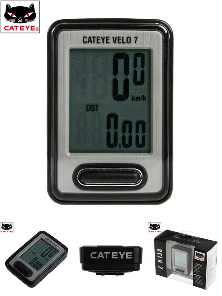 [Visit to Buy] CATEYE Cycling Bike Computer Wired Stopwatch Digital LCD Cycle Speed Meter for Bicycle Biking Bycicle Speedometer, 7 Functions #Advertisement