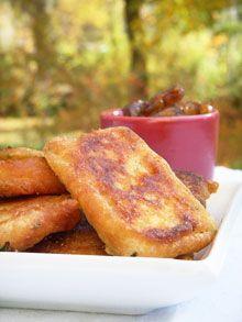 Alter Gusto | Beignets de courgettes à la farine de pois chiche & coriandre -