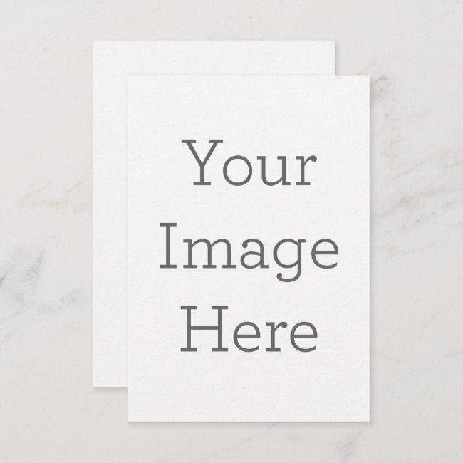 Create Your Own Flat Greeting Card Zazzle Com Custom Thank You