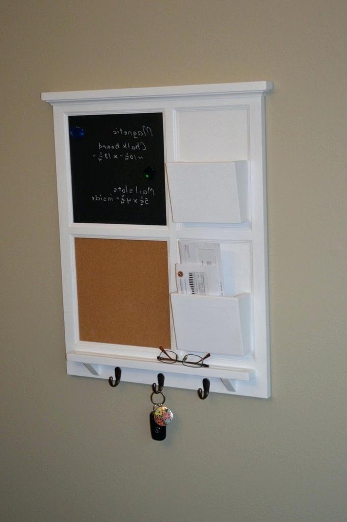 Kitchen Message Board Organizer Full
