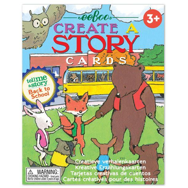 Sestavte si svůj vlastní příběh s těmito kreativními kartami se zvířátky!