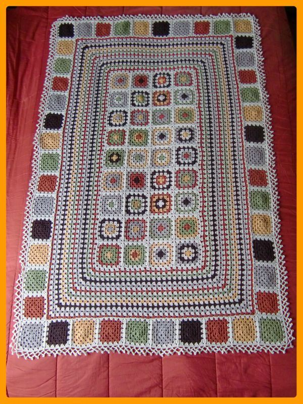 Knitting Pattern Patchwork Afghan : 1000+ images about Patchwork Crochet/Knitting on Pinterest ...