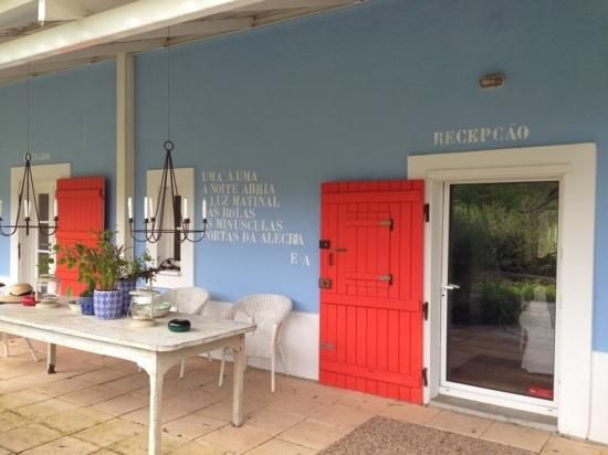 Herdade da Matinha: Reception / main front door