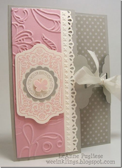 SU embossed and diecut border    (March 13, 2014)