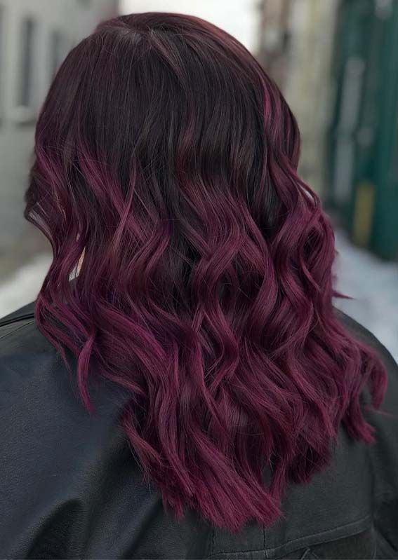 12 Absolutely Amazing Deep Plum Hair Color Shades For 2019 Hair