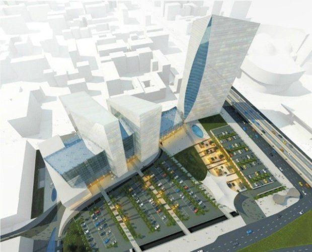 Nowy, 200-metrowy wieżowiec obok Dworca Centralnego [WIZUALIZACJE]