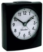 Westclox 47311 Quartz Analog Alarm Clock - Simple Basic Alarm Clocks