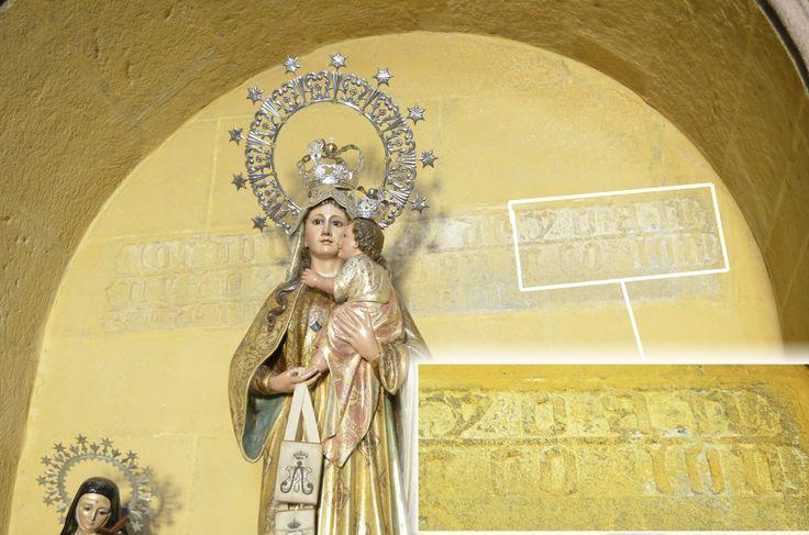 En la basílica de Santa María la Mayor de Pontevedra, se halla esta capilla con el nombre de Yoan Collon familiar de Cristóbal Colón y que aparece también en la base del crucero de la Casa da Crus de Portosanto de San Salvador de Poio, la casa donde nació y actual museo de Colón en Poio.
