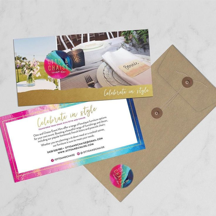 Here's a little flyer that we designed with @ottoandchaise last week!! How much fun is her logo and those colours be sure to go and say hi to Kylie at the upcoming @brides_day_out Hope you've all enjoyed your long weekend!