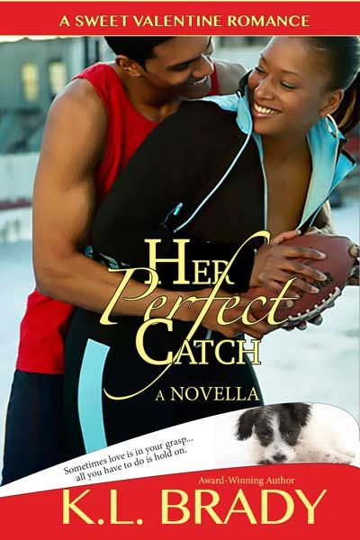 Her Perfect Catch by K.L. Brady Nerdy, struggling sports writer Melanie Vincent needs a miracle when her dream of running a nationally recognized blog hits a snag due to low readership. After Mel i...