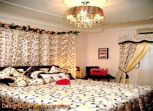 17 best images about wedding bed decoration on pinterest for Asian wedding bed decoration