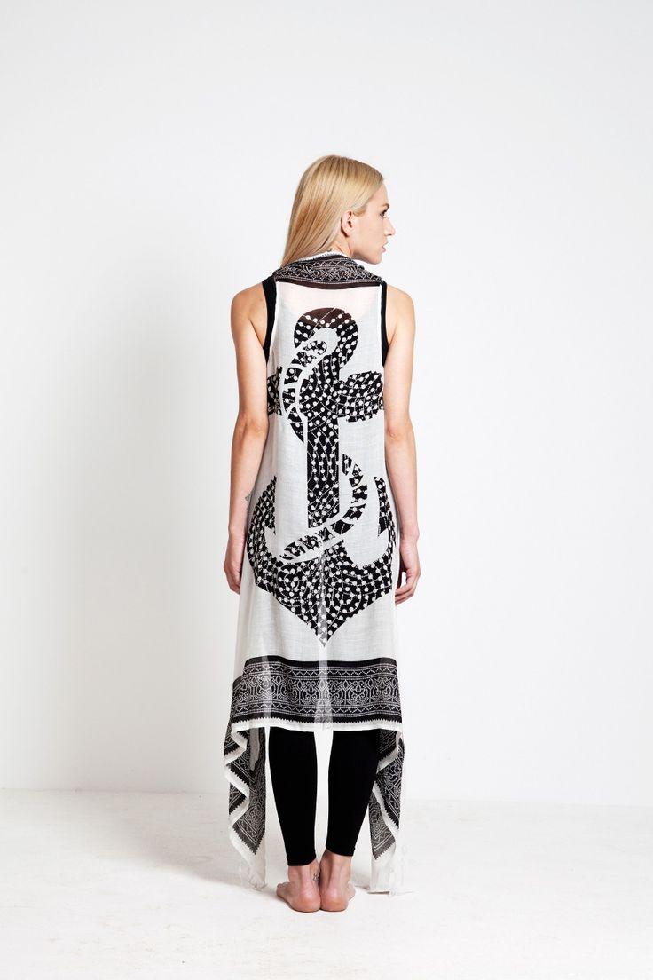 Another beautiful inspiration: Anchor sarong- dress by Greek designer Cleo Gkatzeli!