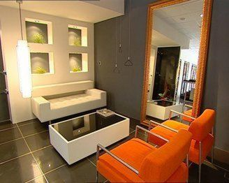 26 best images about cuartos en gris y naranja on - Habitaciones color naranja ...