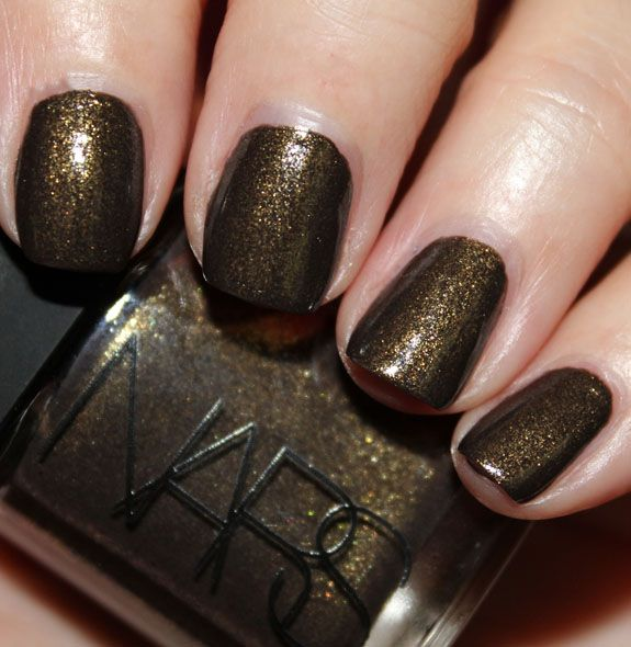 NARS Night Clubbing Swatch NARS Limited Edition Night Clubbing Nail Polish Swatches & Review