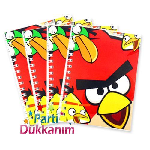Angry Birds Not Defteri 4 Ad (8x11.5 cm) 50 s fiyatı