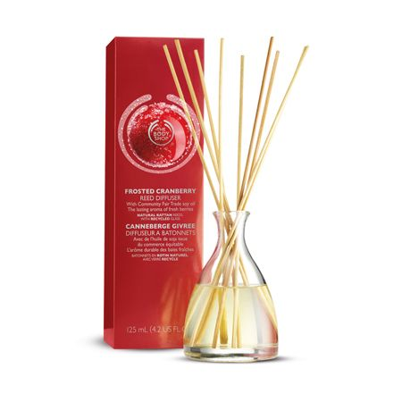 The Body Shop Limited Edition Frosted Cranberry Reed Diffuser