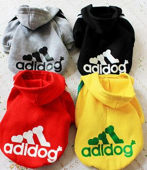 Pet Coat Large Dog Clothes Sweater Clothes for Dogs 2015 Brand Coat Winter Warm Sweat XS-2XL
