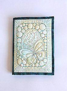 Papiernictvo - Obal A5 - perleťový modrý - 7146272_