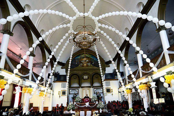 Wedding Decorations / Wedding Dome Balloon Sculpture