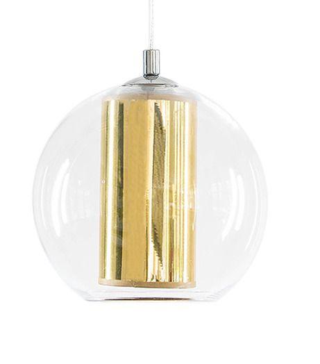 KASPA :: Lampa wisząca Merida L złota 10398105   9design.pl Warszawa