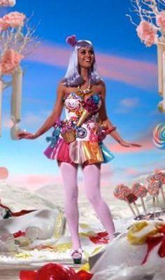 California Girl Katy Perry Candy dress