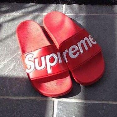 Supreme slide sandals @KortenStEiN